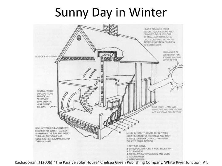 Sunny Day in Winter