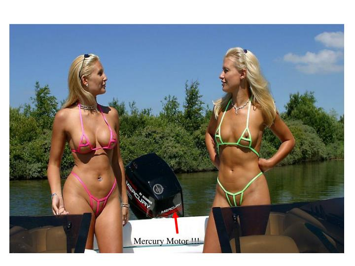 Mercury Motor !!!