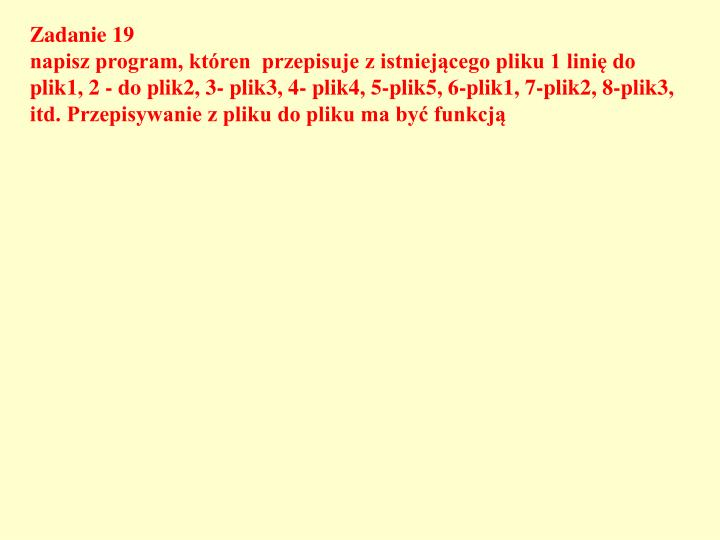 Zadanie 19
