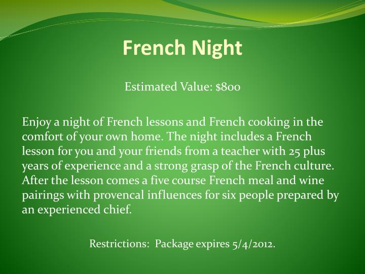 French Night