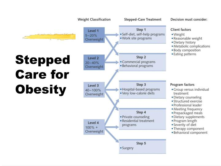 Stepped Care for Obesity