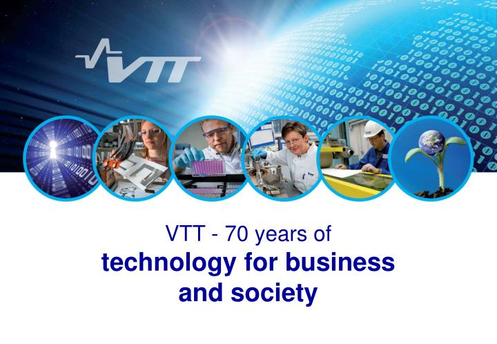 VTT - 70 years of