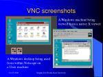 vnc screenshots