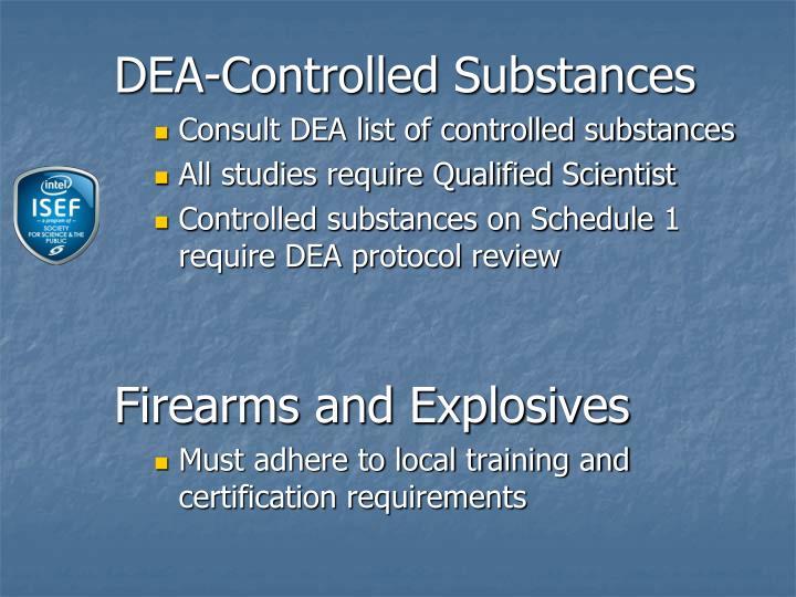 DEA-Controlled Substances