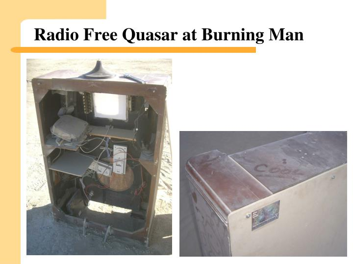 Radio Free Quasar at Burning Man