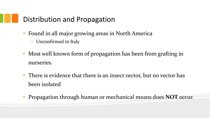 Distribution and Propagation
