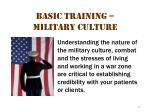 basic training military culture 2