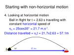 starting with non horizontal motion5