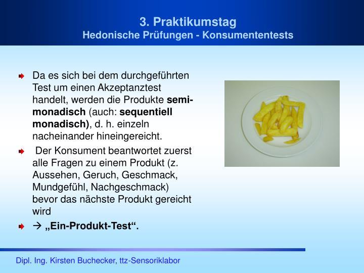 3. Praktikumstag