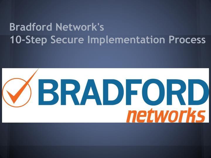 Bradford Network's