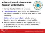 industry university cooperative research center iucrc2