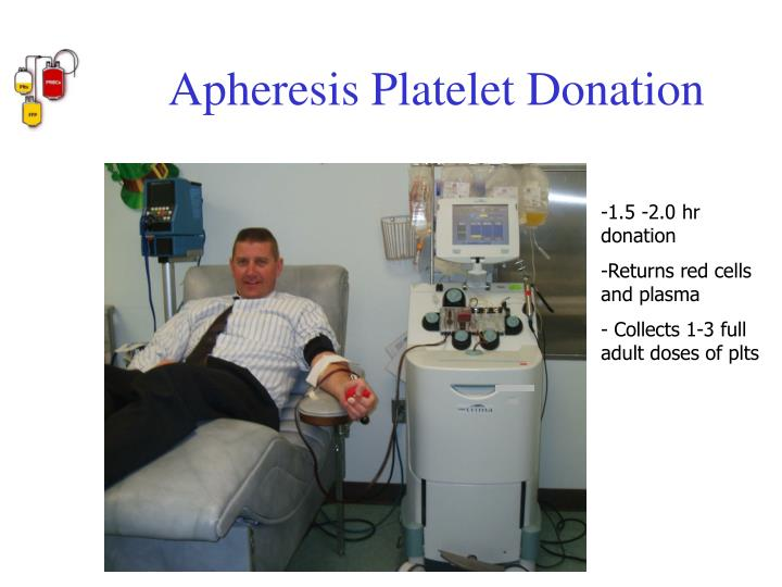 Apheresis Platelet Donation
