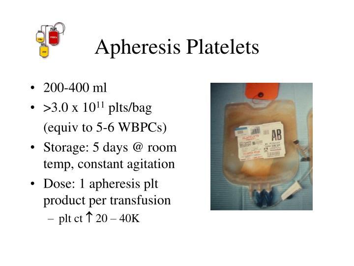 Apheresis Platelets