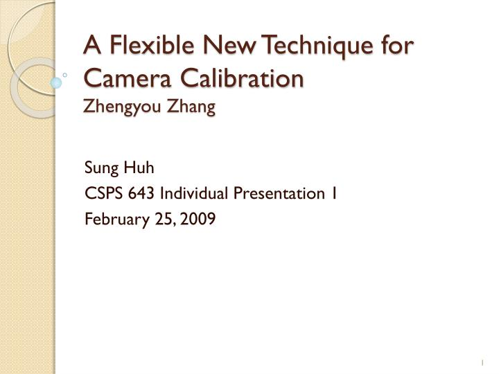 A flexible new technique for camera calibration zhengyou zhang