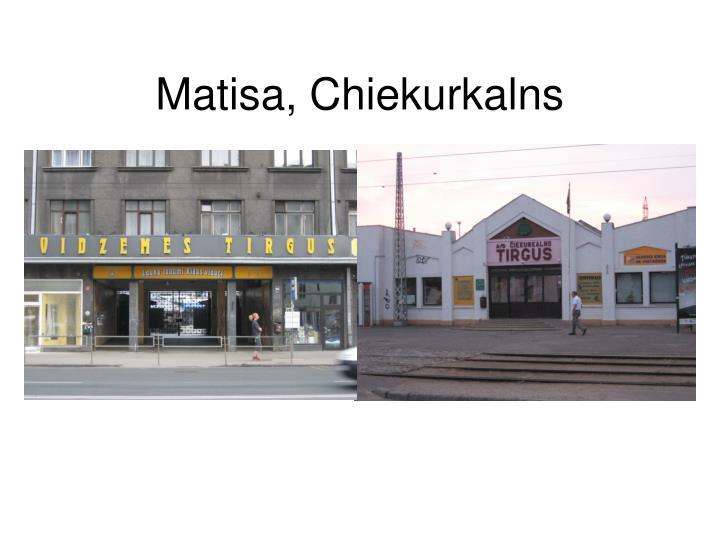Matisa, Chiekurkalns