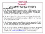 customer questionnaire3