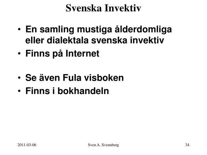 Svenska Invektiv