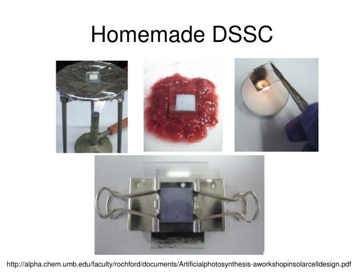 Homemade DSSC