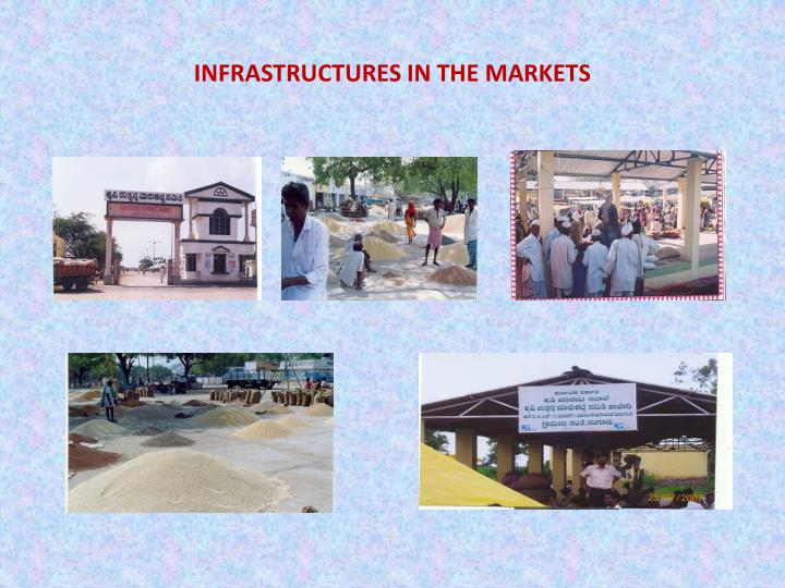 INFRASTRUCTURES IN THE MARKETS