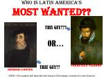 who is latin america s most wanted