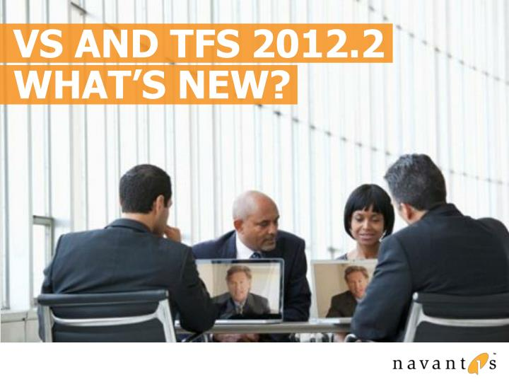 VS and TFS 2012.2