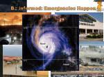 be informed emergencies happen