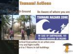tsunami actions
