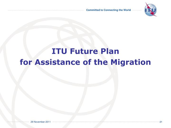 ITU Future Plan
