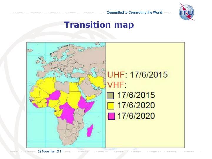 Transition map