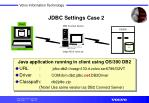 jdbc settings case 2