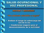 salud ocupacional y voz profesional32
