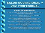 salud ocupacional y voz profesional39