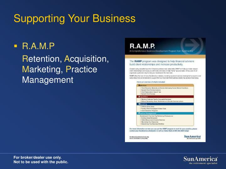 Supporting Your Business