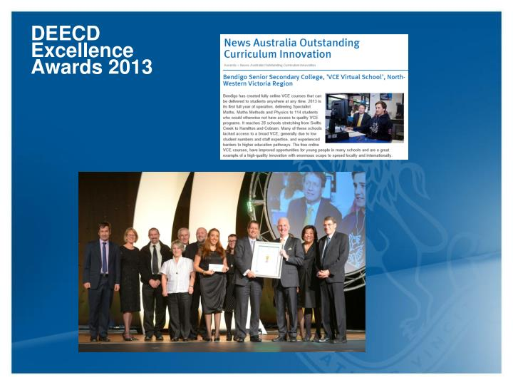 DEECD Excellence Awards 2013