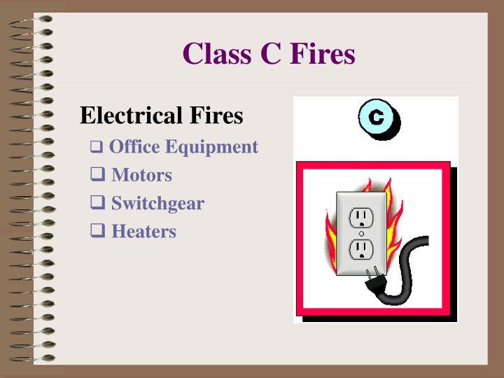 Class C Fires