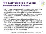 nf1 inactivation role in cancer nonautonomous process2