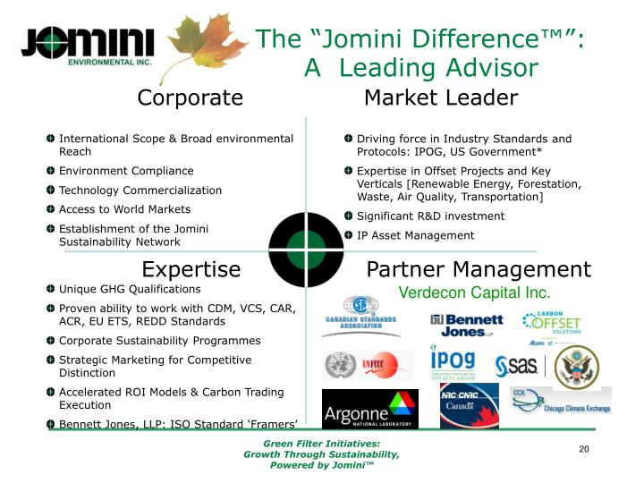 """The """"Jomini Difference™"""":"""