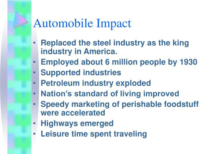 Automobile Impact