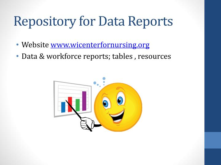 Repository for Data Reports