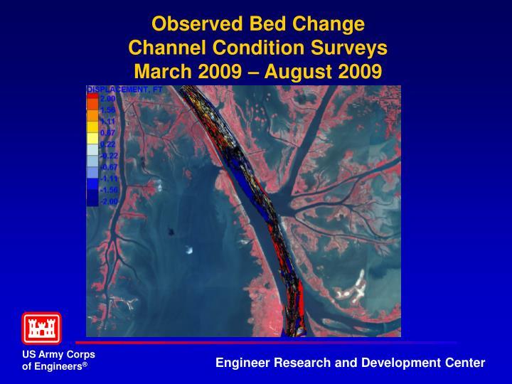 Observed Bed Change