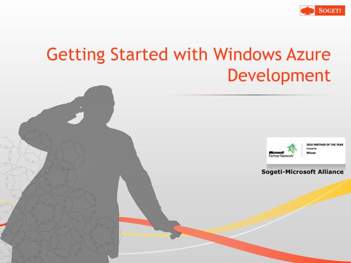 Getting started with windows azure development