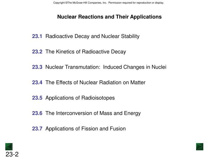 Nuclear Reactions and Their Applications
