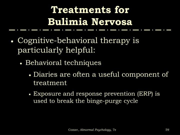 Treatments for