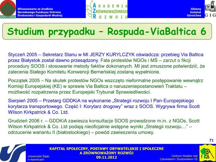 Studium przypadku – Rospuda-ViaBaltica 6