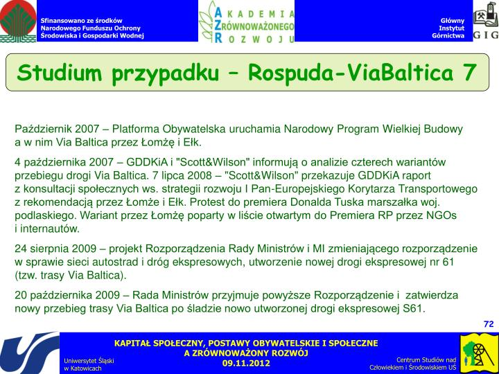 Studium przypadku – Rospuda-ViaBaltica 7