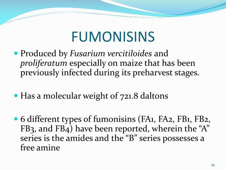 FUMONISINS