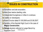issues in construction1