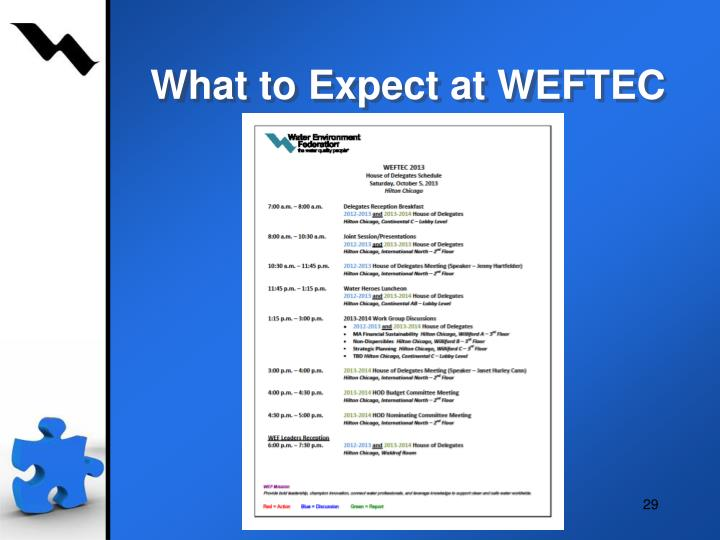 What to Expect at WEFTEC