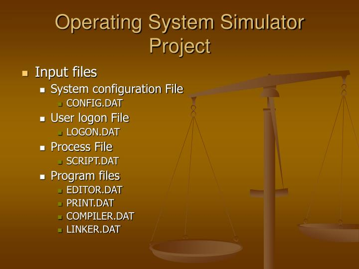 Operating system simulator project2