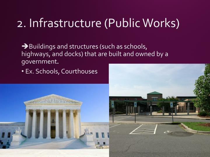 2. Infrastructure (Public Works)